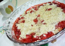 Crumble de morango